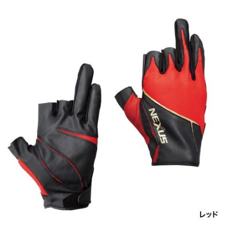 Shimano Nexus Gloves GL-123P (Three Fingers Out)