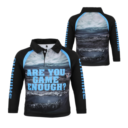 "Shimano Kids ""Game Enough"" Sublimated Tee"